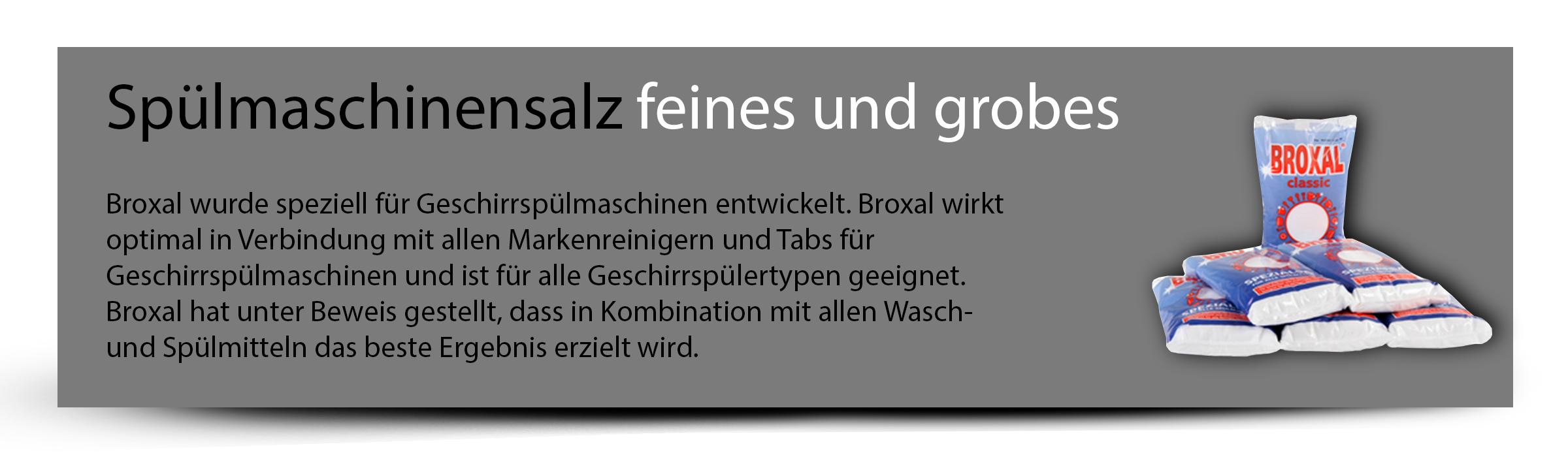 Broxal Spülmaschinensalz Regeneriersalz 12kg